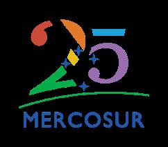 Logo Mercosur 25